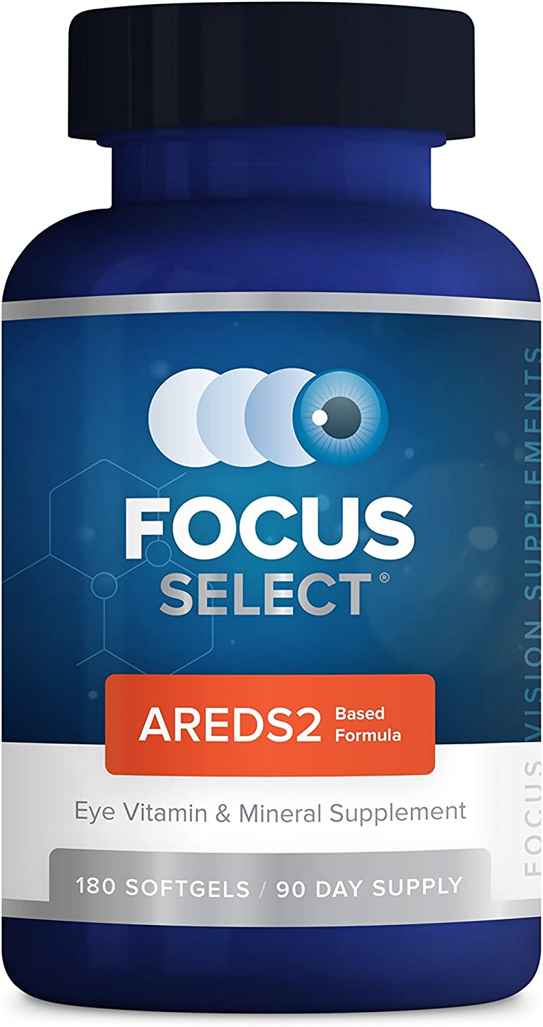 Focus Select AREDS2 Eye Vitamin-Mineral Supplement, 180 ct 90 Day