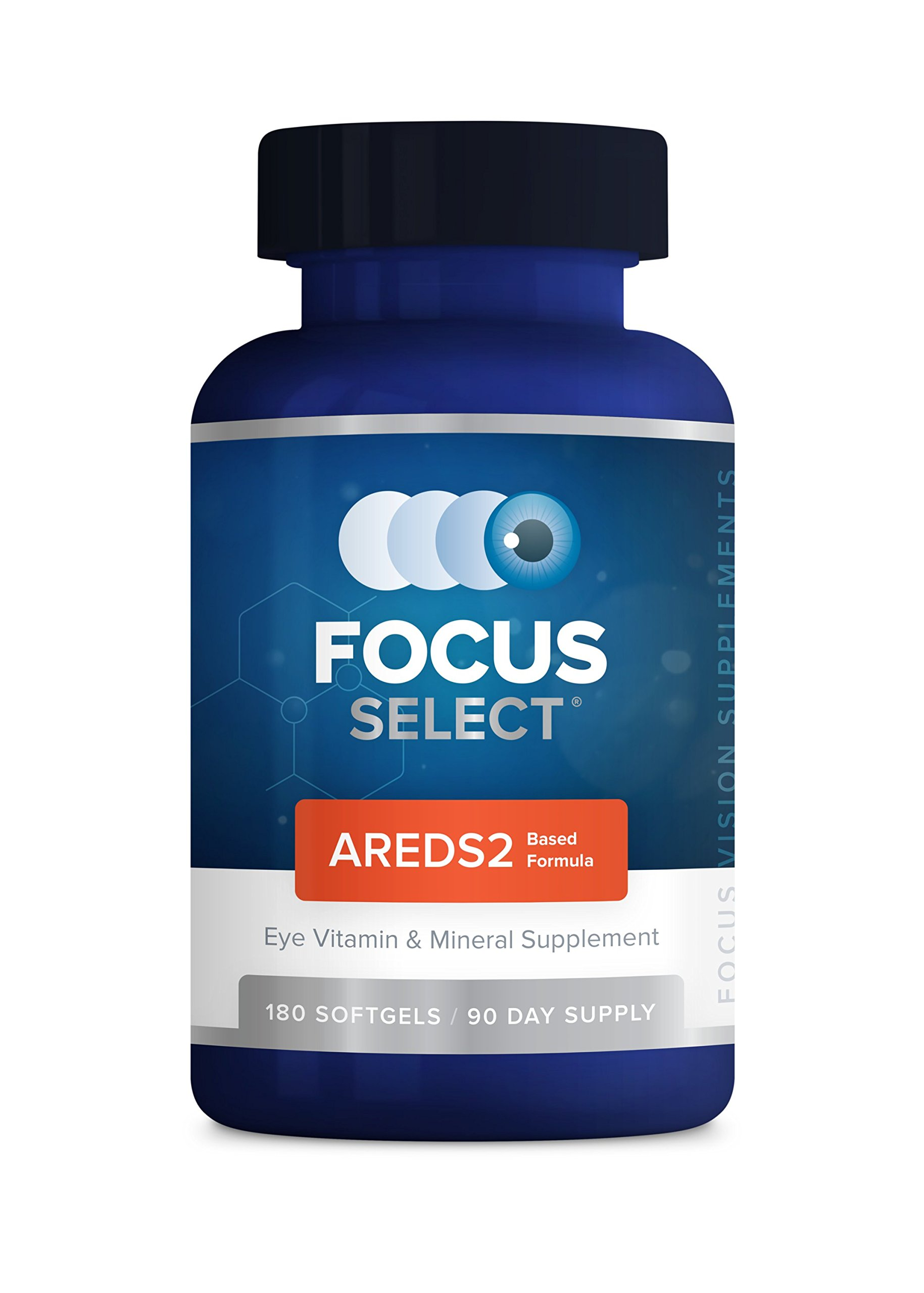 Focus Select AREDS2® Eye Vitamin-Mineral Supplement, 180 ct (90 Day) by Focus Select