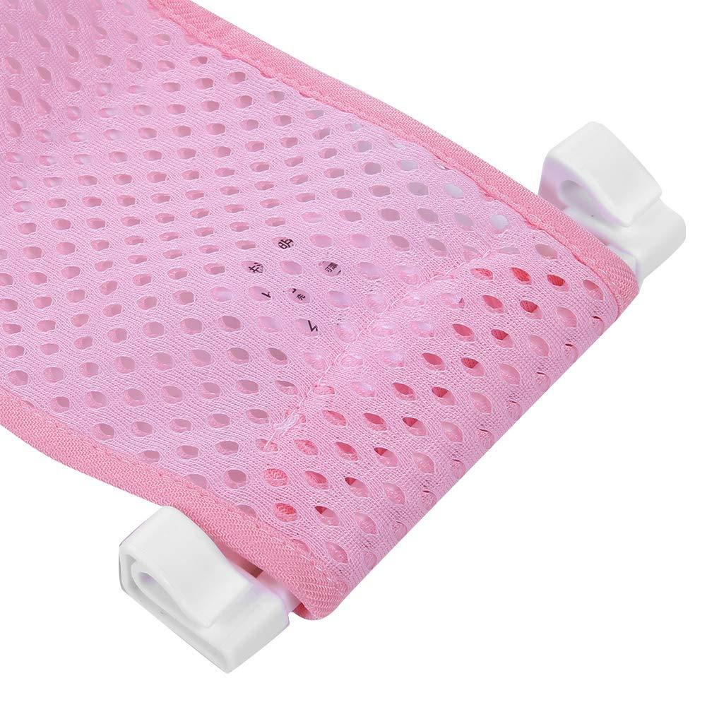 Baby Bath Seat Support Net Badewanne Sling Dusche Mesh Bade Cradle Ringe f/ür Badewanne Neugeborenen Duschpad Gr/ün