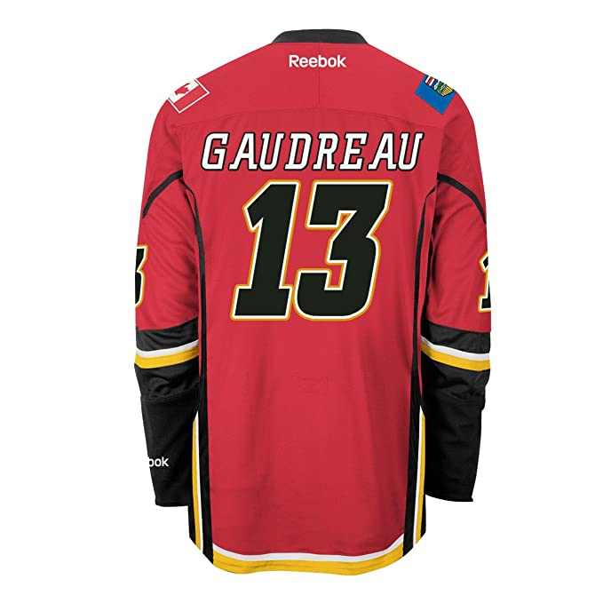 best loved 53e2c 0437d Johnny Gaudreau Calgary Flames Home Jersey