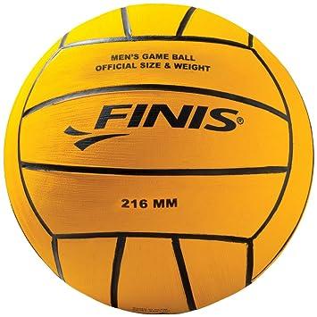 Finis - Pelota de waterpolo masculino, color amarillo: Amazon.es: Deportes y aire libre