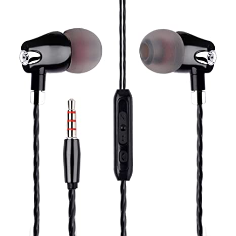 5c05cb4b3c5 Stealkart Pro Bass Earphones, Headphones for Samsung J7 Prime, J7 max, J5  Prime, J4, J5, J6, ...
