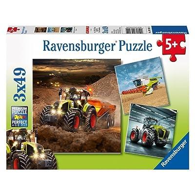 Ravensburger CLAAS: Axion, Lexion, Xerion. Puzzle 3 X 49 Teile
