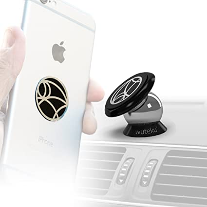 2ed4d1d9f4e38 WUTEKU Best Car Phone Holder 100% Universal Magnetic Dashboard Mount Kit  For All Vehicles