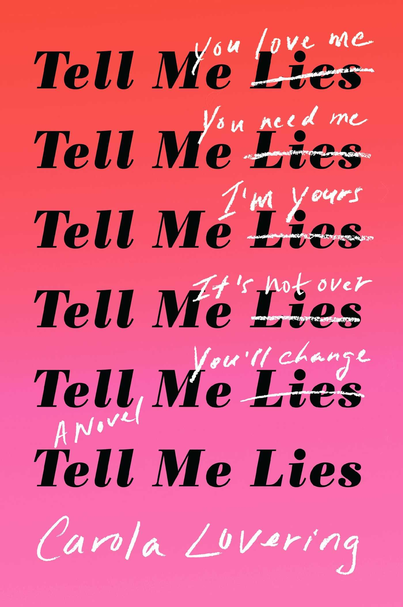 Image result for tell me lies carola lovering