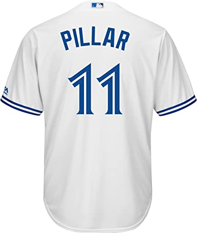Amazon.com: Outerstuff Kevin Pillar Toronto Blue Jays White Youth ...