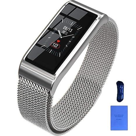 Amazon.com: Reloj inteligente de pulsera inteligente con ...