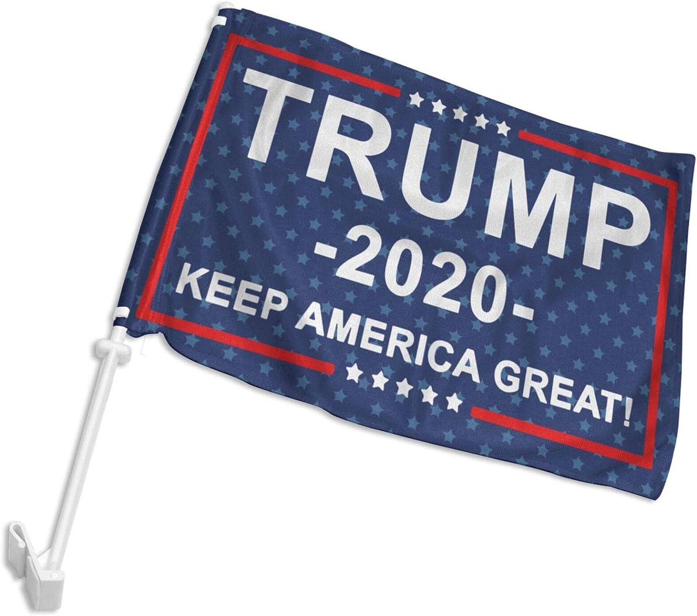 POYOMUK 2020 Trump 2020 Fuck Your Feelings Durable Car Flag 12x18 inch for Cars,Trucks Vehicle Window Clip Indoors Outdoors Decor Car Vehicle Flag No Flag Pole