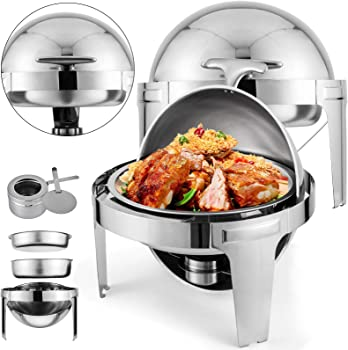 Mophorn Round Chafing Dish