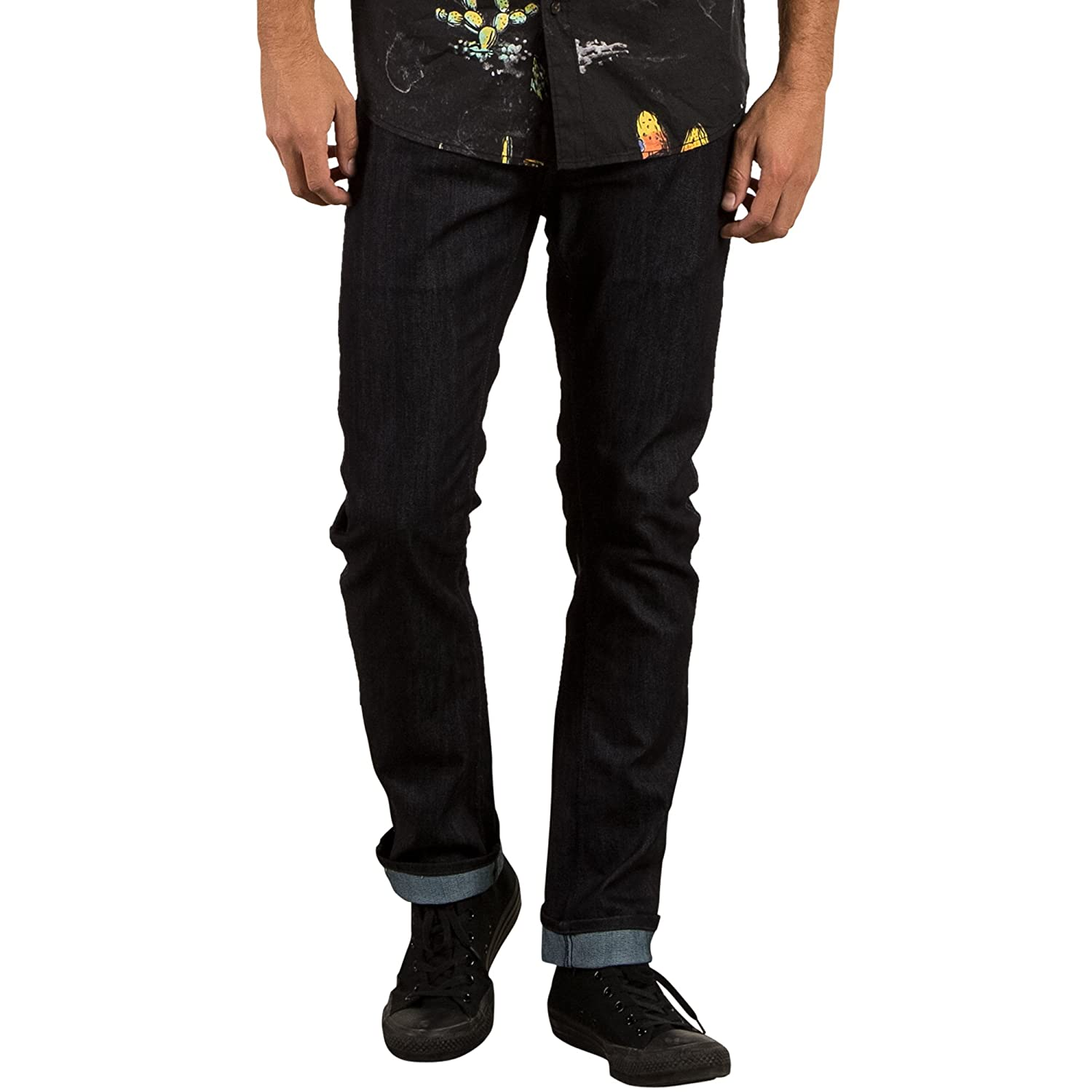 Volcom Mens Vorta Form Stretch Denim Jean