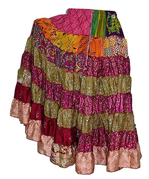 Wevez 8 Patio ATS Tribal danza del vientre falda: Amazon.es: Ropa ...