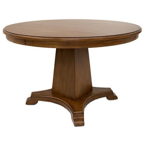 Impacterra Crete Round Dining Table Tudor