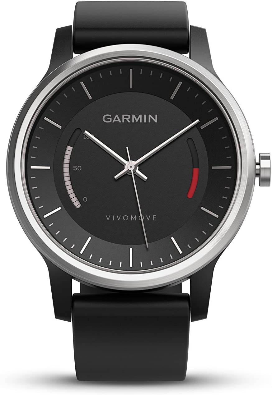 Garmin vívomove Sport - Black with Sport Band