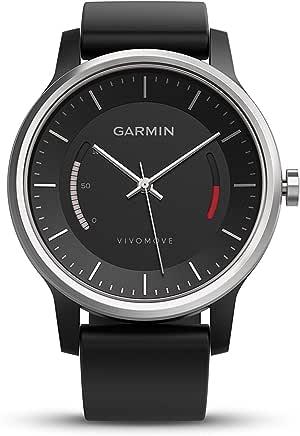 Garmin vivomove Sport  NA  Black with Sport Band,Smartwatches