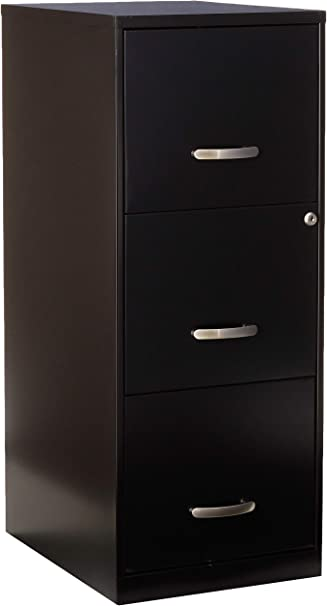 Lorell 18573 3 Drawer Mobile File Cabinet 18 Inch Amazon Ca Home Kitchen