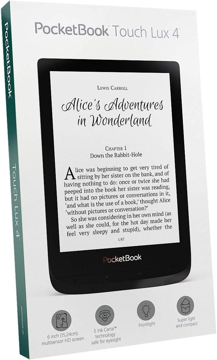 Pocketbook Touch Lux 4 lectore de e-book Pantalla táctil 8 GB Wifi ...