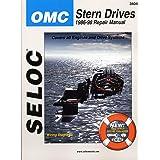 Seloc Repair Manual OMC Cobra SX Stern Drive 1986-1998