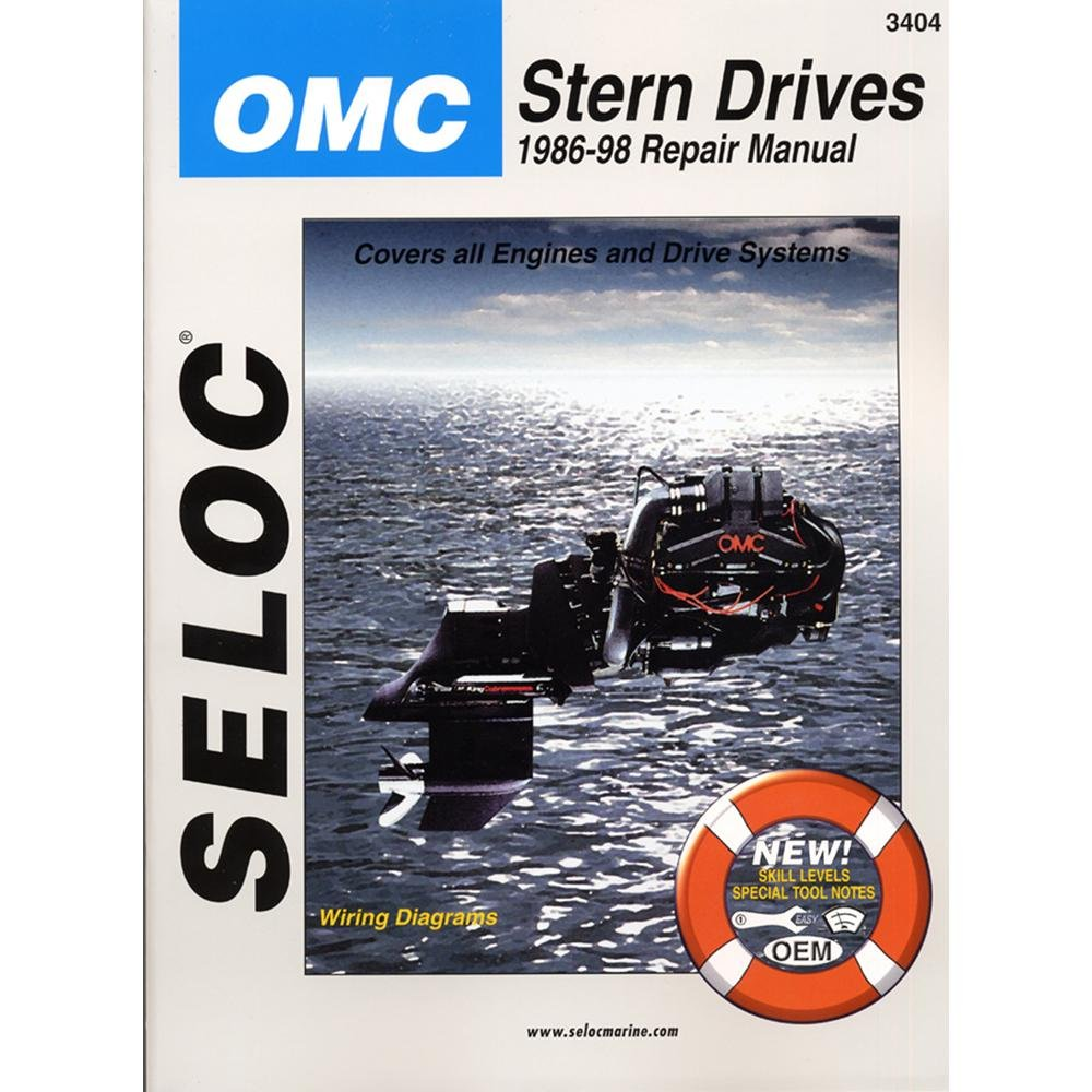 amazon com seloc repair manual omc cobra sx stern drive 1986 omc sterndrive manual free download Omg Wiring Diagram omc stern drive wiring diagram