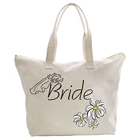 Amazon.com: ElegantPark - Bolsa de algodón con cremallera ...