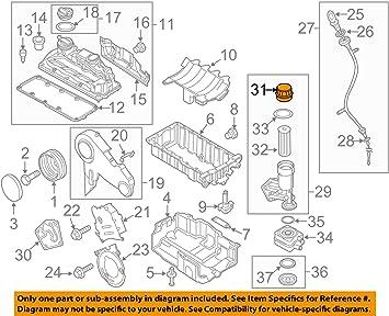 09 jetta engine diagram amazon com volkswagen audi 045115433c genuine oem cap automotive  volkswagen audi 045115433c genuine oem