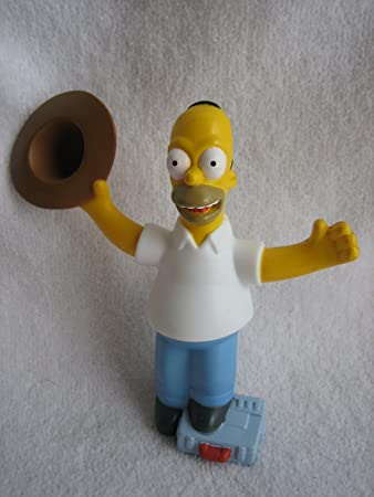 2007 The Simpsons Movie Burger King Kids Meal Toy Homer Bo Ta Ny Shop