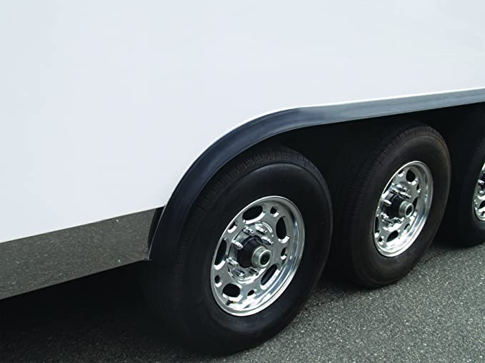 Pacer Performance 52-168 Flexy Flares Black 2-1//2 x 25 Heavy Duty No-Lip Rubber Fender Extension Roll