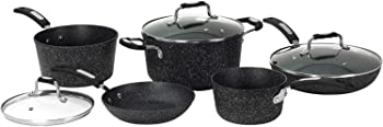 Starfrit The Rock Nonstick 10-Piece Cookware Set
