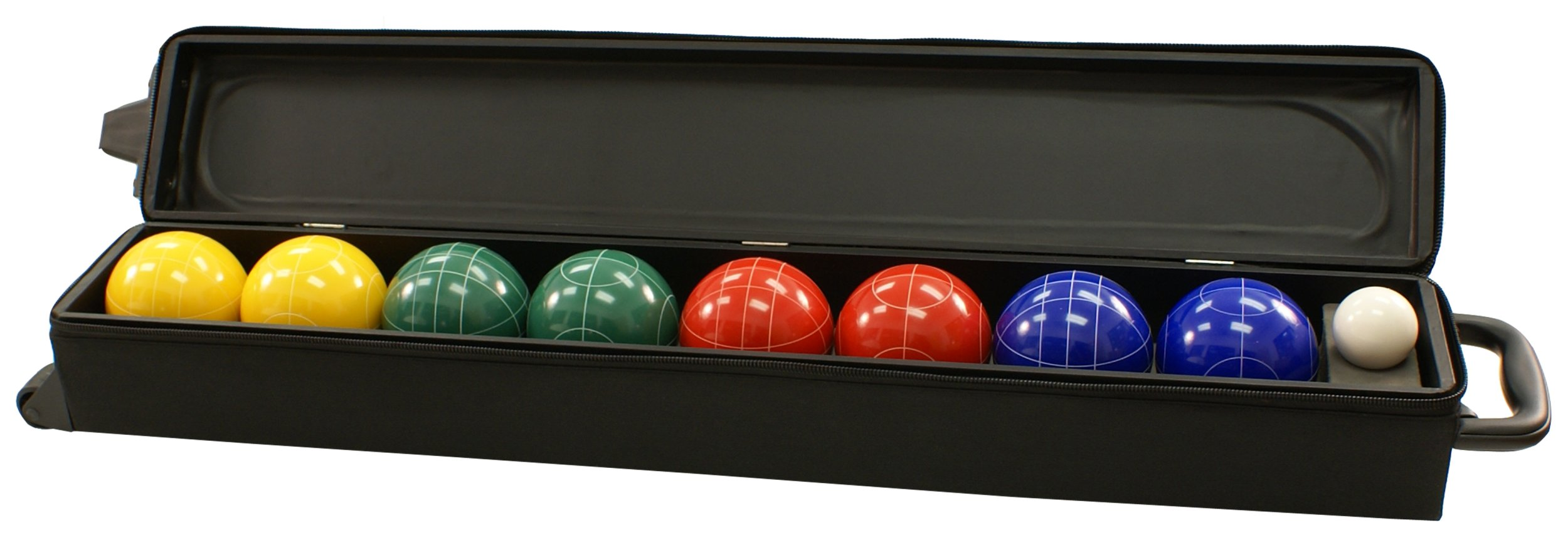 Gamenamics Bocce 100mm with Wheeled Carry Case by Gamenamics