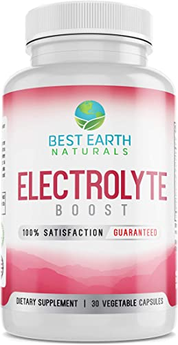 Electrolyte Support Supplement – Helps Support Electrolyte Balance with Vitamin D, Calcium, Magnesium, Sodium, Potassium, Boron and More
