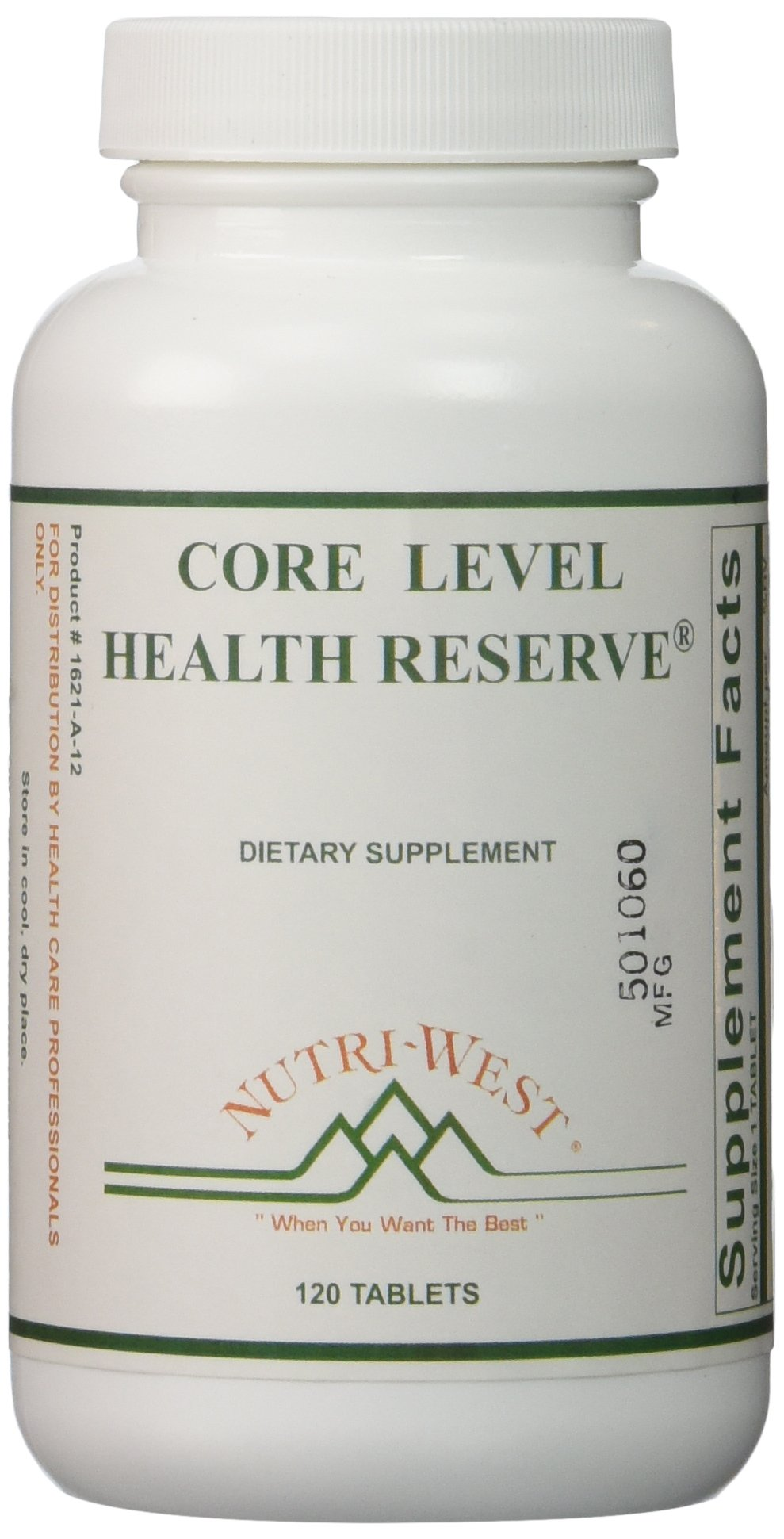 Core Level Health Reserve - 120 Tablets by Nutri West