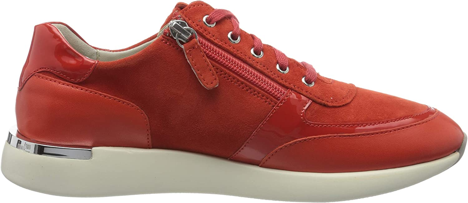 Sioux Malosika-701, Sneakers Basses Femme Rouge Sanguine 005