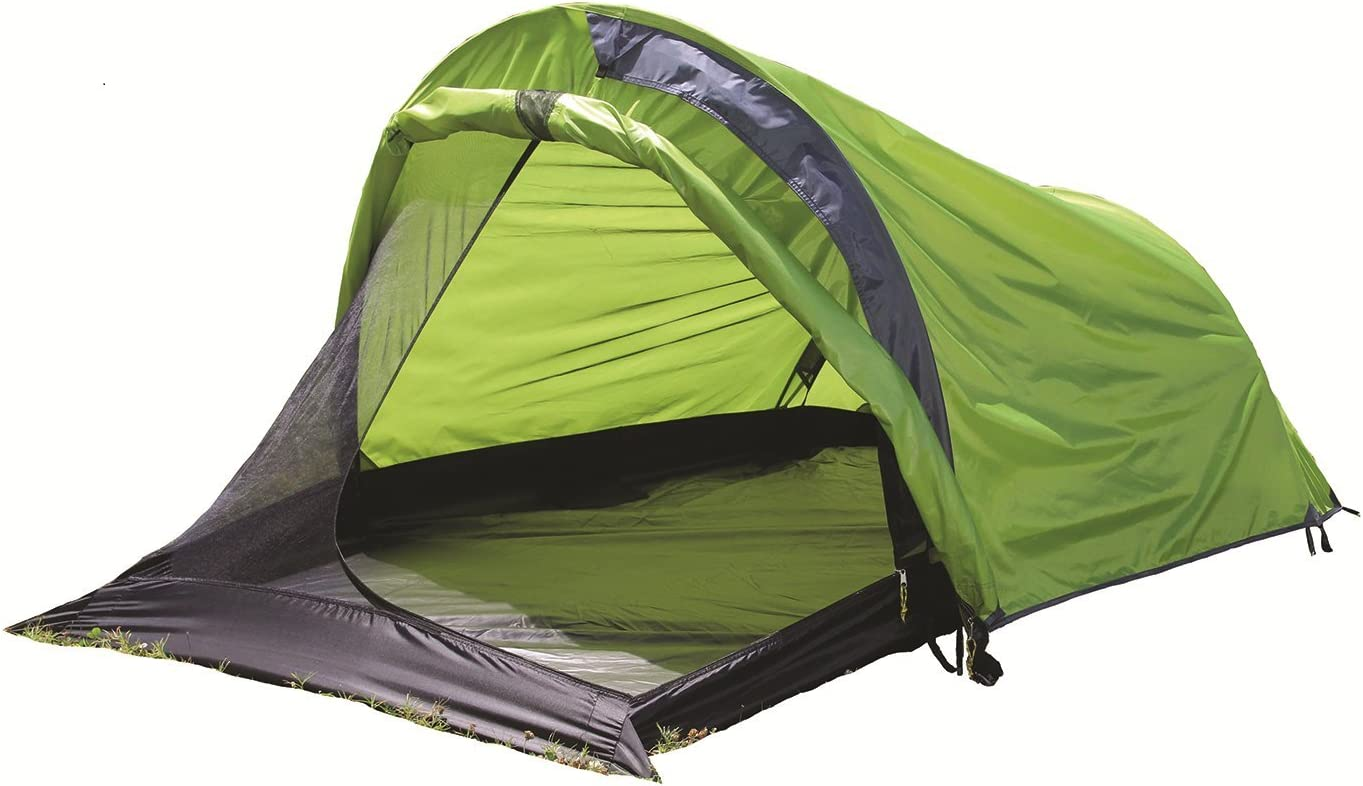 Texsport First Gear Cliff Hanger II Three Season Backpacking Tent, Limeade