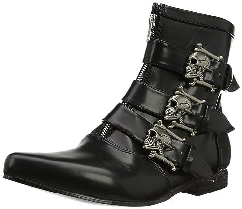 Demonia Brogue-06, Men's Cowboy Boots, Black (Black), 7 UK