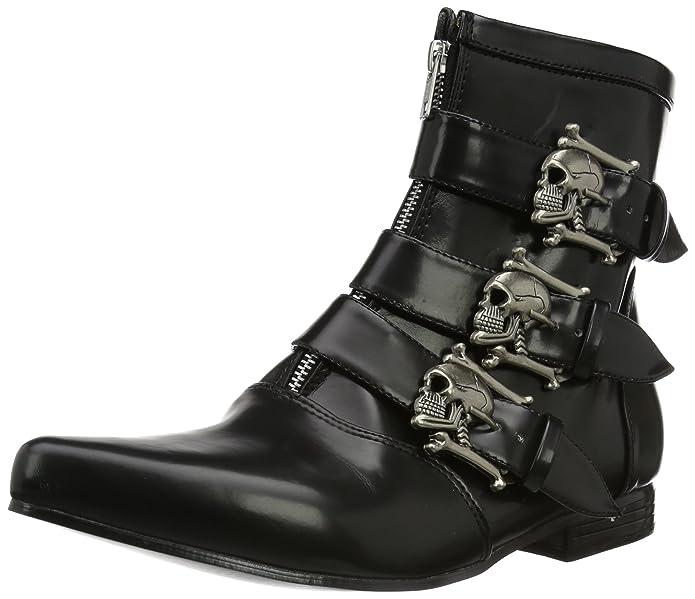 Skull Strap Boots