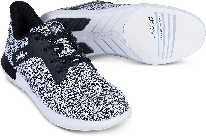Strikeforce Lux White/Black Women's Bowling Shoe