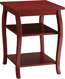 ACME Becci End Table - 82834 - Red