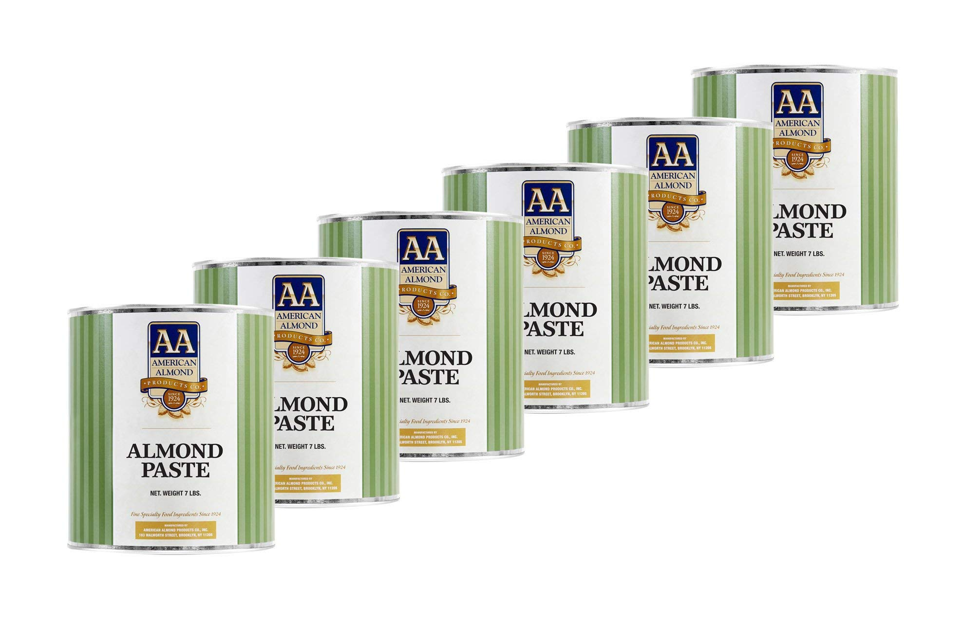 Cacaoholic - Almond Paste by American Almond | Six Pack - 7 lb Can Each by Cacaoholic