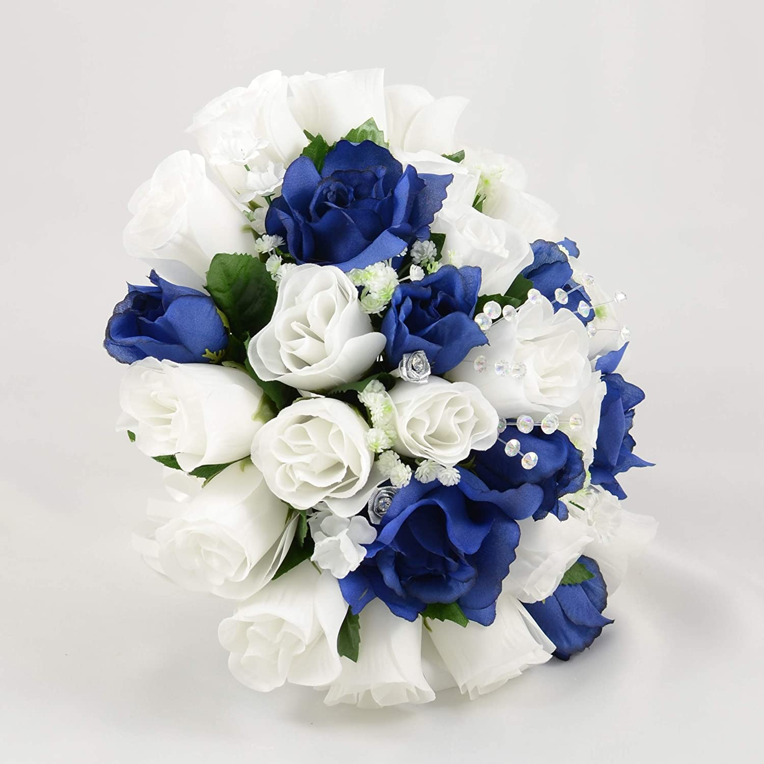 Silk Wedding Flowers Hand Made By Petals Polly Brides Posy White