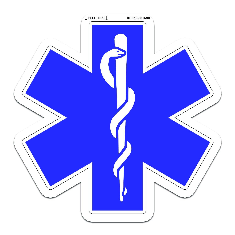 Amazon Star Of Life Medical Ems Emt Paramedic Medics Sticker 5