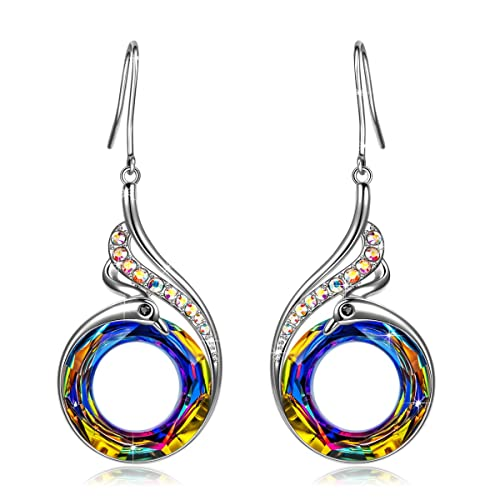 Kate Lynn Earrings for Women Jewelry Gifts Woman s Nirvana of Phoenix Swarovski Crystals Earrings with Gift Box, Soft Cloth