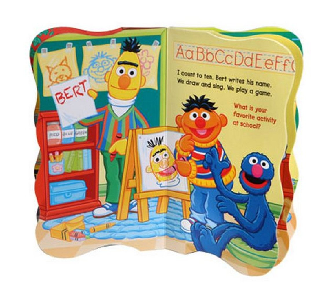 Board Book Hardcovers BENDON PUBLISHING INT. SG/_B001A46M7U/_US Abbys Shapes Elmos Colors Board Book Hardcovers, 4 Books Abby/'s Shapes Elmo/'s Colors Cookie/'s Numbers Cookies Numbers Sesame Street First Books Series; BIG Birds Letters