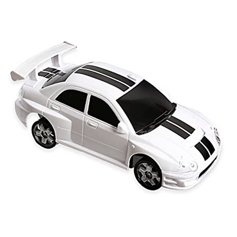 Amazon.com: The Black Series Dual Frequency Radio Controlled Turbo Action Drifter (White): Toys & Games