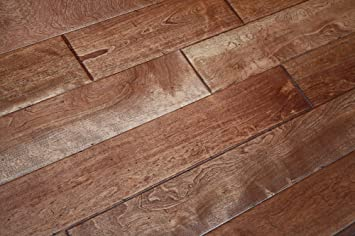 Elk Mountain Maple Prairie Brown Solid 3 4 X 4 3 4 Distressed