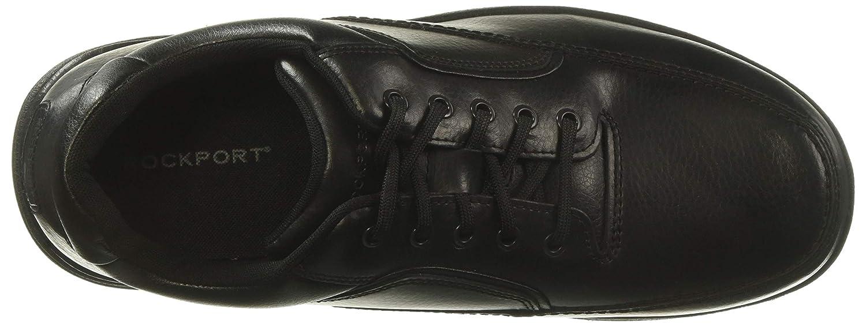 Rockport Mens Eureka Walking Shoe D Island Shoes Casual Zappato England Suede Black