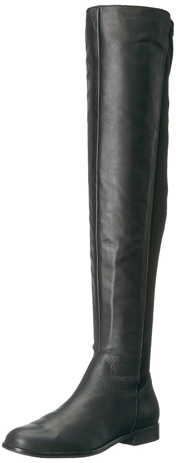 Opportunity Shoes - Corso Como Women's Landow Over The Knee Boot B06VY5P7MM 7.5 B(M) US|Black Soft Calf