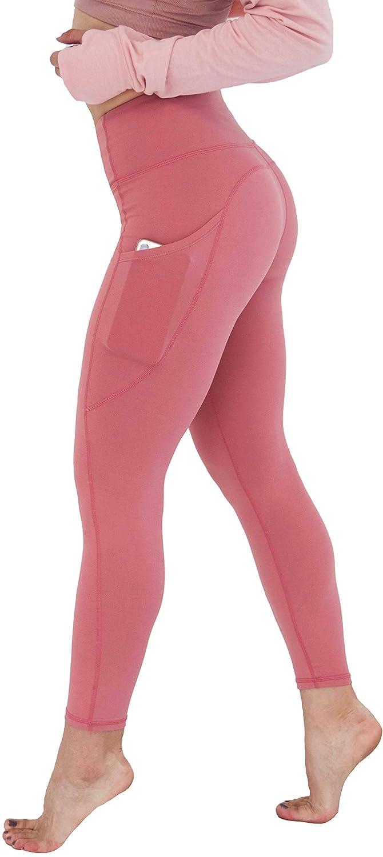 Zaffre Shop Be Bang High Waisted Out Pocket Yoga Pants Tummy Control Workout Running Ultra Soft Leggings
