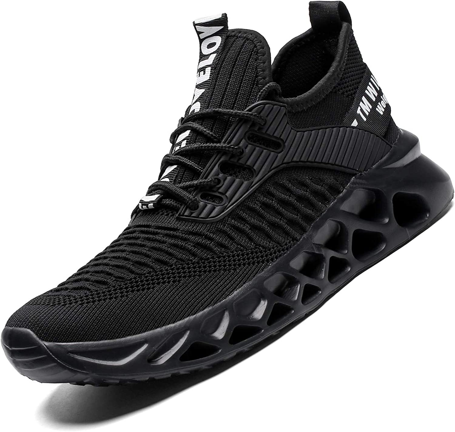 Amazon.com | Kapsen Mens Running Shoes Mesh Breathable Sneakers