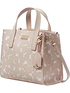 49176b742d KATE SPADE Putnam Drive Splodge Dot Anissa Leather Handbag Women s Satchel