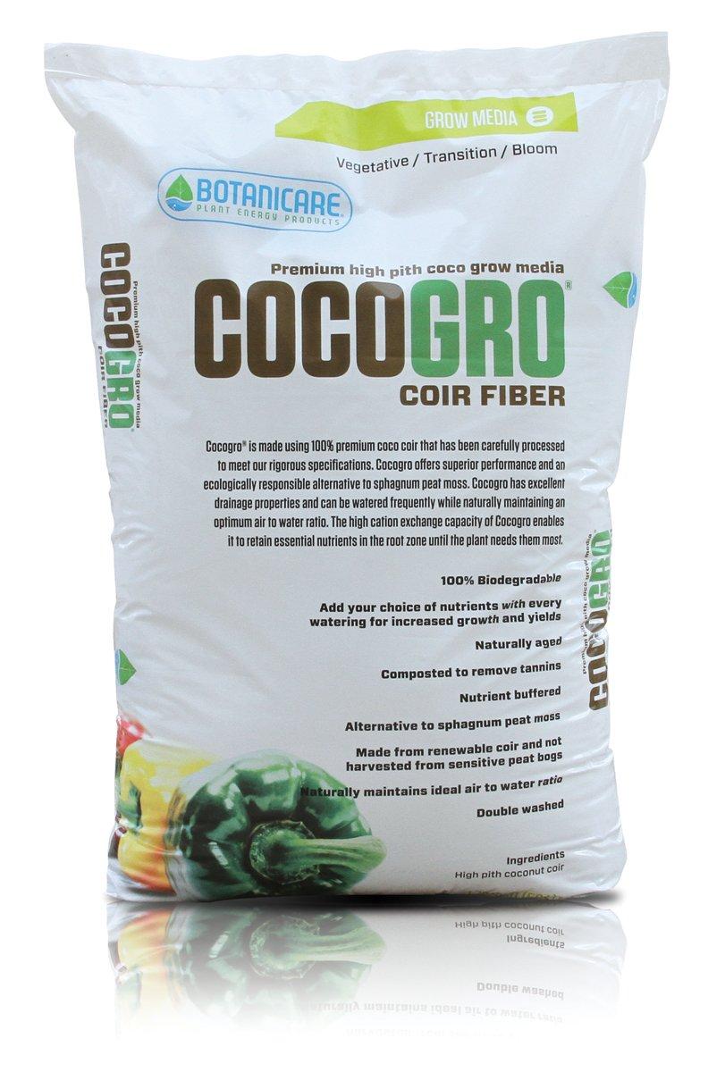 Botanicare Cocogro Premium Organic Soilless Grow Media, 1.75 cu ft
