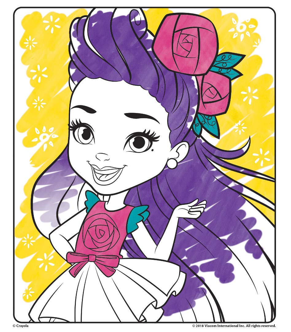 Gift for Kids Crayola Color Wonder  Coloring Book Pages /& Markers Mess Free Coloring